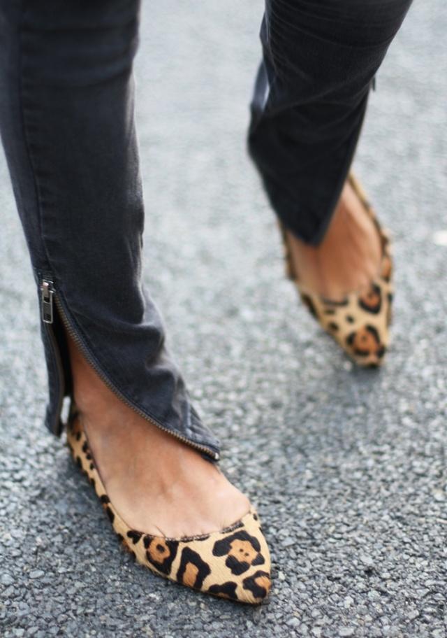 bailarinas de leopardo
