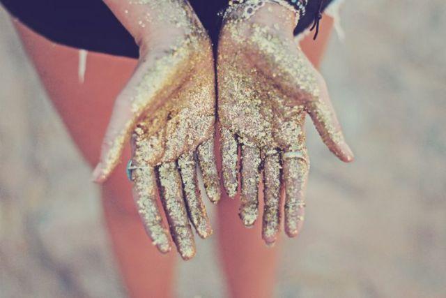gold-sand