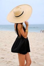 little-black-dress-hat-summer