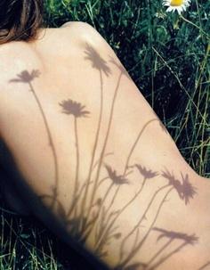 Hay flores que dejan huella...
