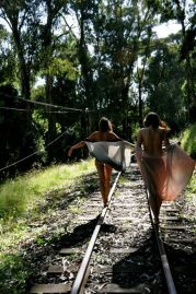 walking-through-the-trainrails