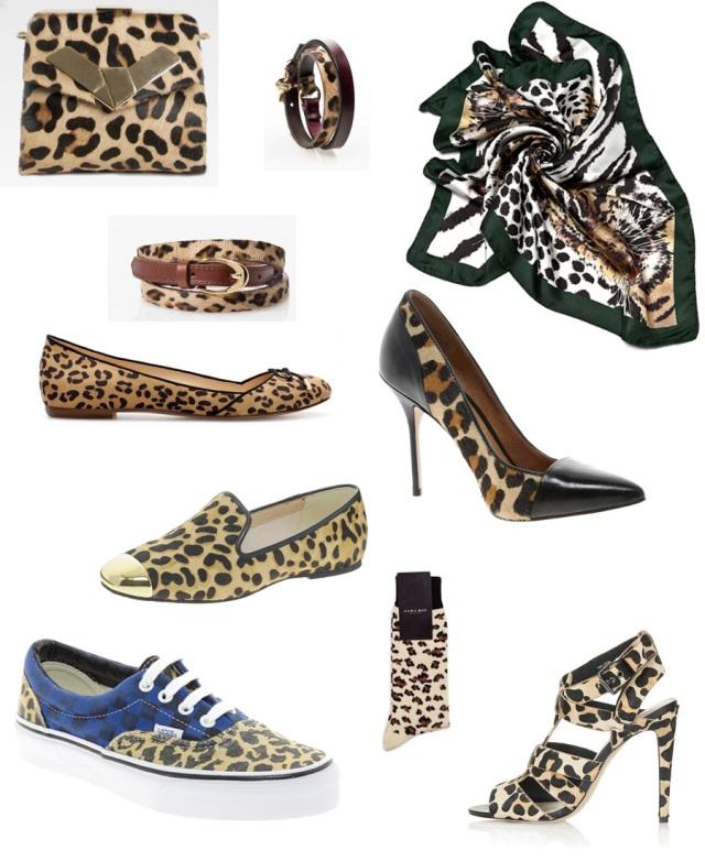 Aquí va una selección de prendas de leopardo, para el detalle....
