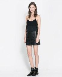 minifalda-piel-zara