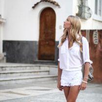 shorts-y-camisa-blanca