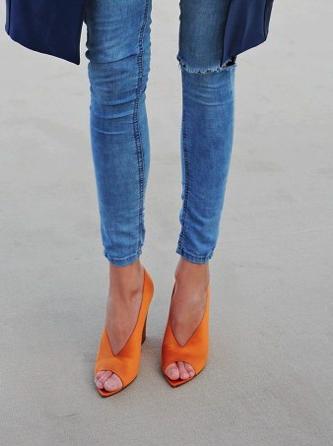 zapatos-abotinados-naranjas